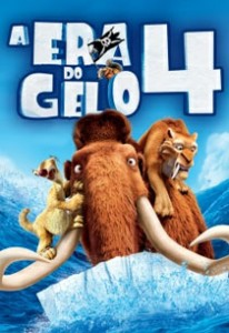 A Era do Gêlo 4 - cartaz do filme (descrição no final do post)